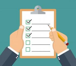 trade show checklist